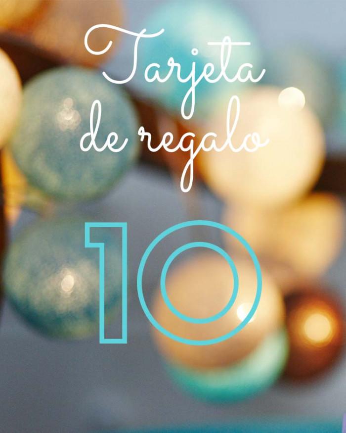 Tarjeta de Regalo 10