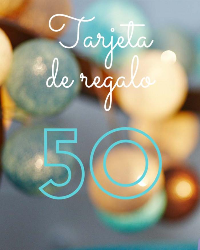 Tarjeta de Regalo 50