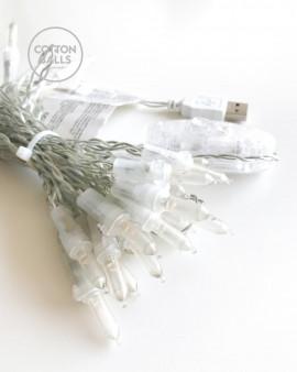 Cable USB 35 luces LED (línea)
