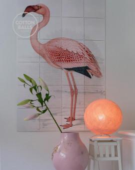 Candeeiro de Mesa - Pale Pink