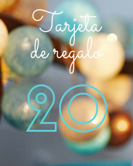 Tarjeta de Regalo 20
