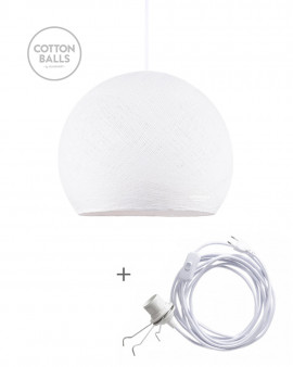 Lámpara Errante - BIG Cup White